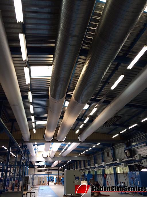 gaines-textiles-de-canalisation-d-air-climatise-usine-emerson