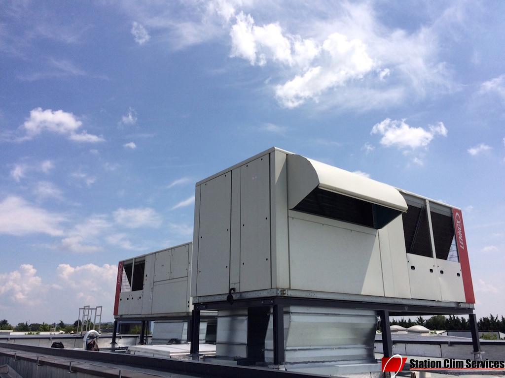 rooftop-lennox shm200-climatisation-professionnelle-échangeur-condenseur-air-chaud-ou-froid-chez-emerson-genas-69740